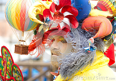 Clown costume Editorial Stock Photo