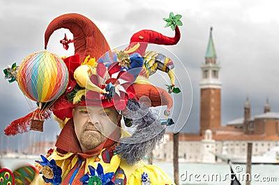 Clown costume Editorial Photo