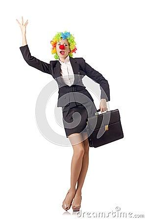 Clown de femme