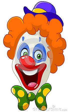 Free Clown Face Royalty Free Stock Photography - 31030937