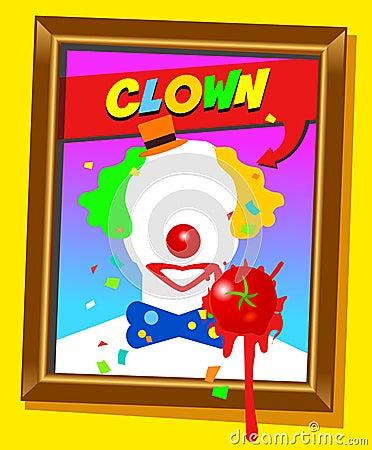 The clown frame