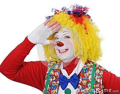 Clown Gesturing