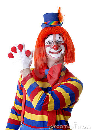 Clown Magic Trick