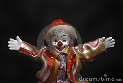 Clown says: Hey