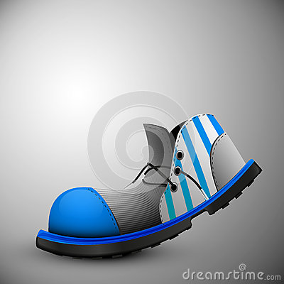 Free Clown Shoes Old Royalty Free Stock Photo - 42846615