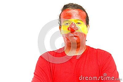 Clown Spanish Supporter