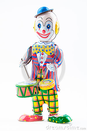 Free Clown Toy Stock Photography - 35965742