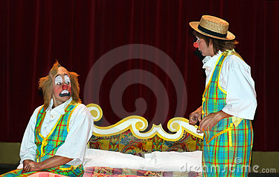 Clowns Redactionele Stock Foto