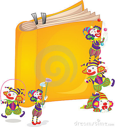 Clowns on book
