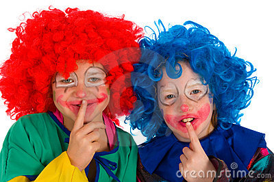Clowns children