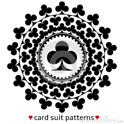 Poker hand all same suit