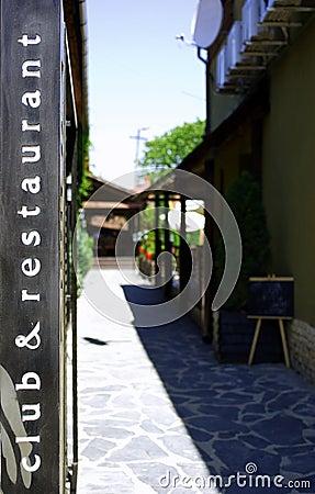 Club & restaurant