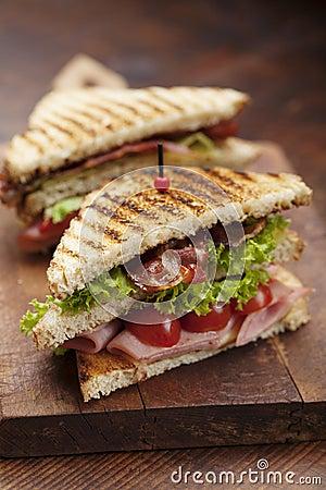 Free Club Sandwich Stock Photos - 35683383