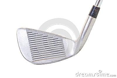 Clube de golfe clássico do ferro