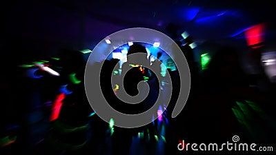 Clube noturno video estoque