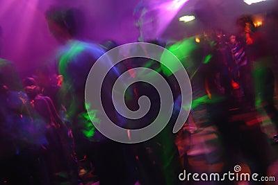 Clubnight Stock Photo