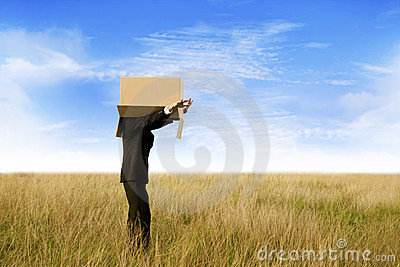 Clueless Businessman Outdoor Stock Photos - Image: 24064923