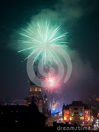 Cluj Entering 2013 Editorial Photo