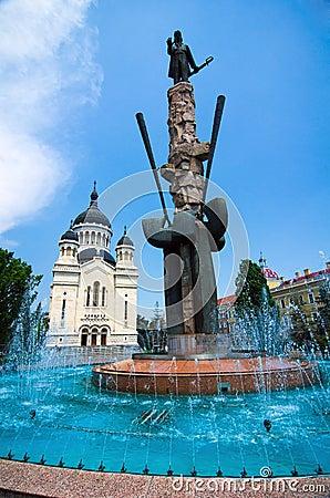 Cluj-Napoca - Avram Iancu square