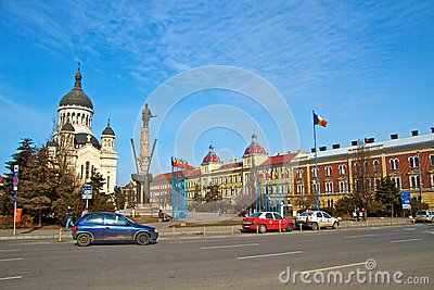 Cluj-Napoca city Editorial Stock Photo