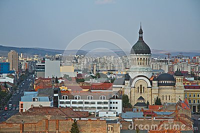 Cluj-Napoca city Editorial Image