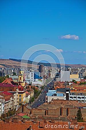 Cluj-Napoca city Editorial Stock Image