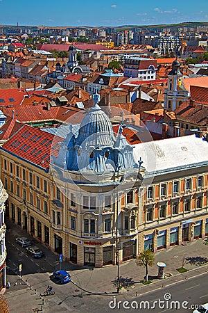 Cluj-Napoca city Editorial Photo