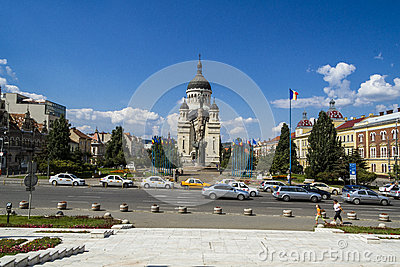 Cluj-Napoca city Editorial Photo