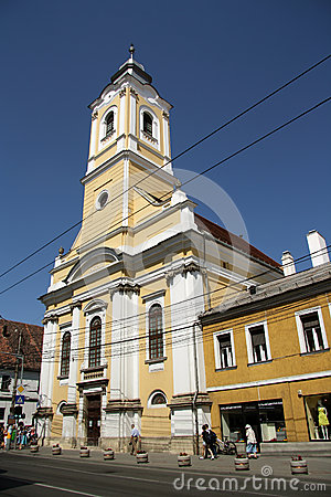 Cluj-Napoca Evangelical Church Editorial Photo