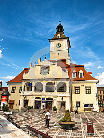 Brasov square Editorial Stock Photo