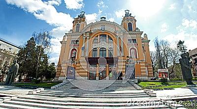 Cluj Napoca theatre Editorial Stock Image