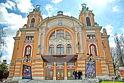 Cluj Napoca theatre Editorial Image