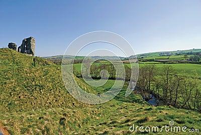 Clun castle shropshire