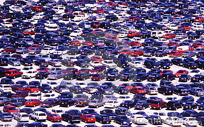 Cluster of Cars
