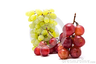 Cluster of fresh grape