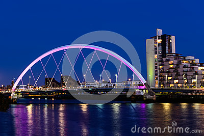 The Clyde Arc, Glasgow, Scotland