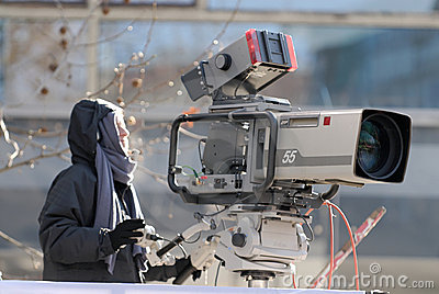 Câmera da transmissão
