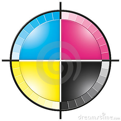 Cmyk colors korset