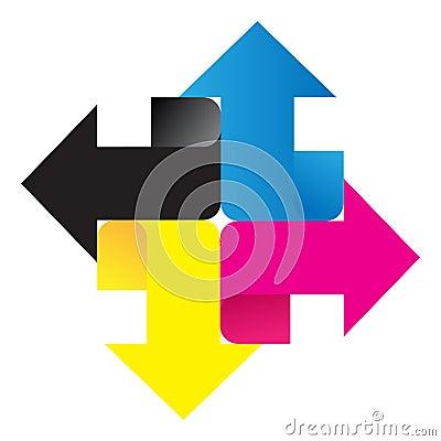Free Cmyk Logo Stock Image - 33815121