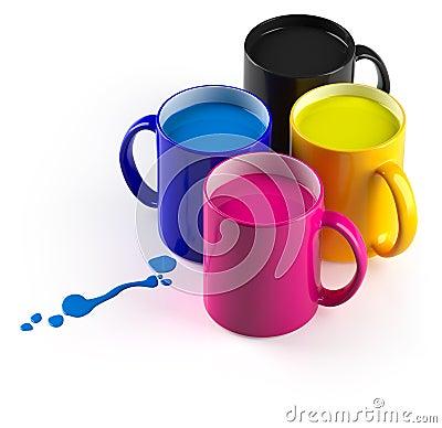 CMYK mugs