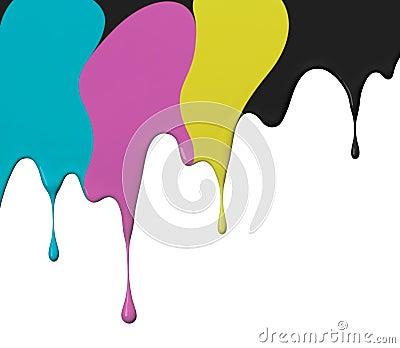 Cmyk paint