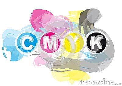 CMYK Printer s Inks