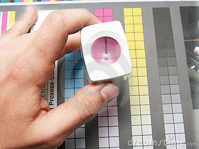 CMYK printing color