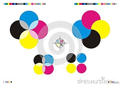 CMYK Printing Marks & Logos