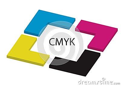 Cmyk  - vector
