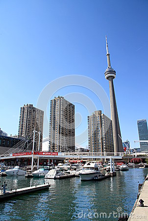 CN Tower Editorial Photography