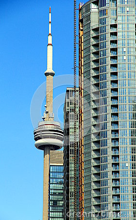 CN Tower Editorial Photo