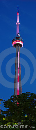 CN Tower Editorial Image