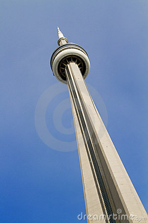 CN Tower Toronto Canada Editorial Photography