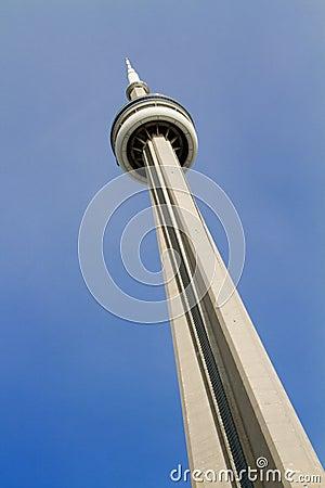 CN Tower Toronto Canada Editorial Photography